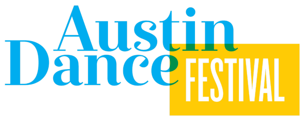 austin-dance-festival-logo-cyan-and-yellow-e1454361338477